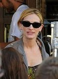 Photos of Julia Roberts Filming in Rome