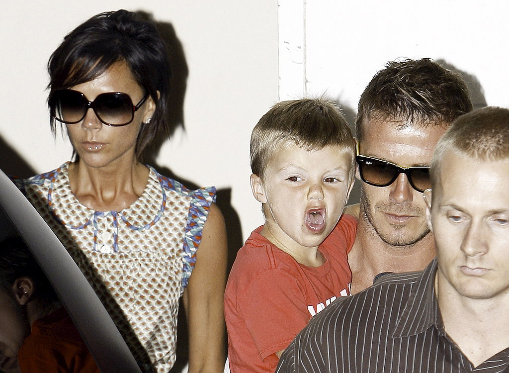 Photos of The Beckhams at Lunch in LA