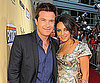 Slide Photo of Mila Kunis, Jason Bateman at Extract Premiere Red Carpet LA