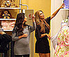 Slide Photo of Kim Kardashian, Pregnant Kourtney Kardashian Shopping For Baby Clothes