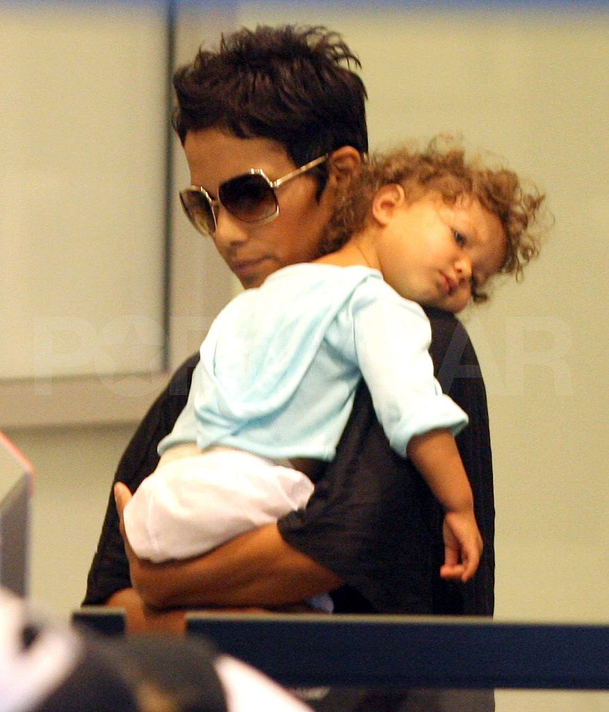 Photos of Halle Berry, Gabriel Aubry, Nahla in LA