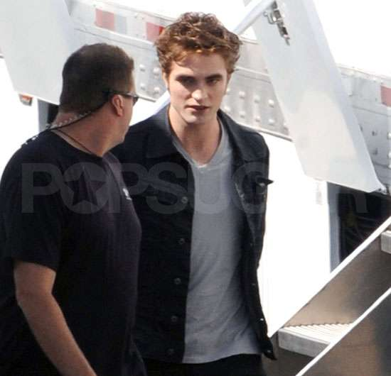 Photos of Robert Pattinson in Eclipse