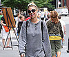 Slide Photo of Whitney Port Walking Around in NYC in Sweats
