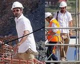 Photos of Brad Pitt in Spain