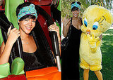 Photos of Rihanna at Six Flags Magic Mountain