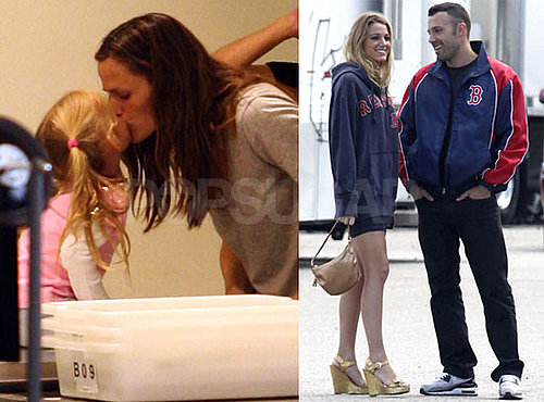 Photos of Ben Affleck And Blake Lively Looking Cozy on The Set of The Town