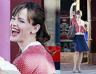 Photos of Jennifer Garner Filming Valentine's Day in LA