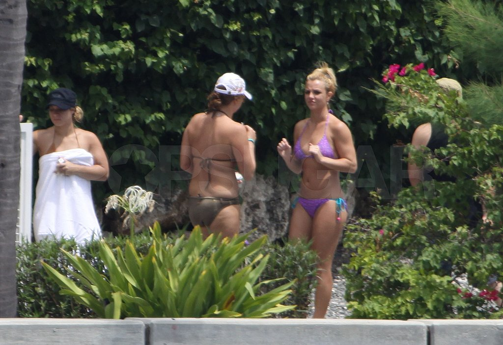 Photos of Britney Spears in a Bikini in Miami