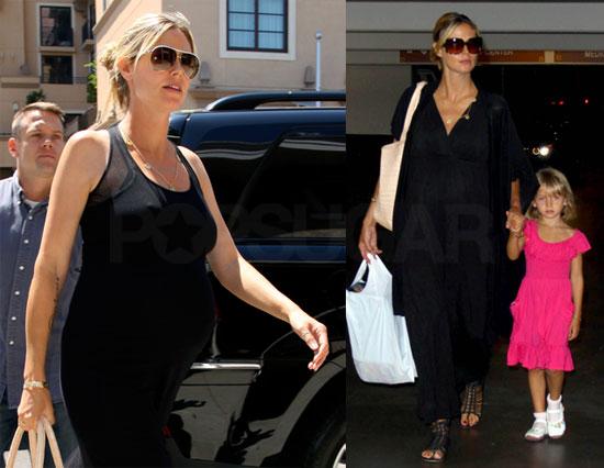 Photos of Heidi Klum and Leni