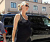 Slide Photo of Heidi Klum and Her Growing Baby Bump in LA