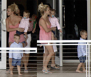 Photo of Britney Spears in Miami With Jayden James and Sean Preston