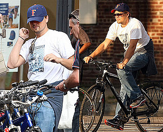 Photos of Leonardo DiCaprio Riding His Bike in NYC