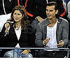 Slide Photo of Gavin Rossdale and Mirka Federer at the US Open