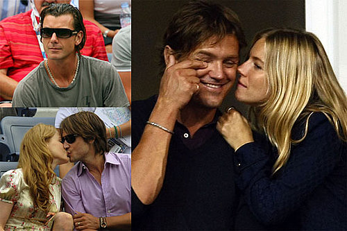 Photos of Nicole Kidman, Keith Urban, Gavin Rossdale, Sienna Miller, Anna Wintour, And George Barker at the US Open 2009-09-08 11:30:00