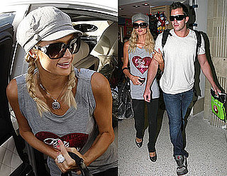 Photos of Paris Hilton, Doug Reinhardt in Frankfurt, Germany