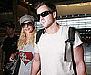 Photo Slide of Paris Hilton and Doug Reinhardt at LAX