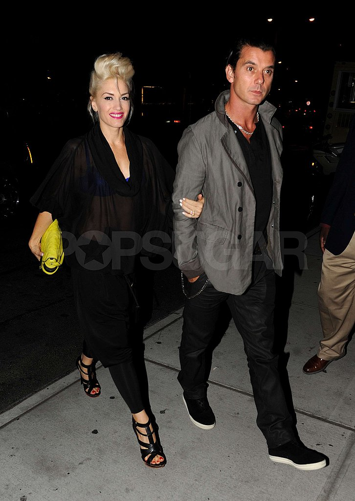 Photos of Gwen and Gavin at The Standard Grill