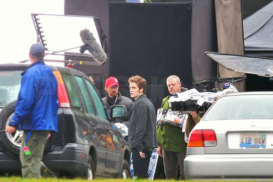 Photos of The Eclipse Cast on Set