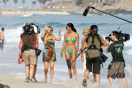 Photos of Jessica Simpson in Brazil