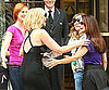 Photo Slide of Cynthia Nixon, Kim Cattrall, Kristin Davis and Sarah Jessica Parker on Set in NYC