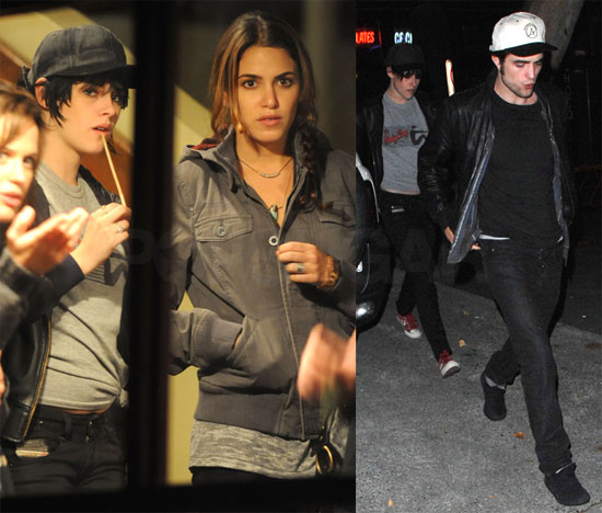 Photos of Rob, Kristen, and Nikki Out in Vancouver