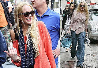 Photos and Quotes From Lindsay Lohan to Access Hollywood Talking About Aspiring to Be Britney Spears
