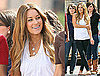 Photos of Lauren Conrad Filming Photo Shoot in NYC
