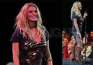 Photos of Jessica Simpson Performing in Daisy Dukes in Wisconsin