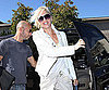 Slide Photo of Gwen Stefani Wearing All White in LA