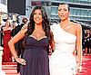 Slide Photo of Kim and Kourtney Kardashian at the 2009 Emmys