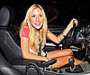 Slide Photo of Kristin Cavallari in Her Car Leaving Dinner in Malibu