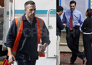 Photos of Jon Hamm, Ben Affleck, And Rebecca Hall Filming The Town in Boston