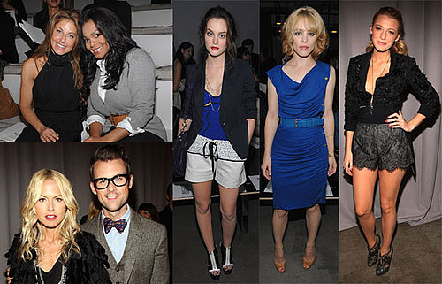 Photos of Rachel McAdams, Anna Wintour, Emmy Rossum, Rachel Zoe, Emmanuelle Chriqui, And Blake Lively at NY Fashion Week 2009-09-17 11:00:00
