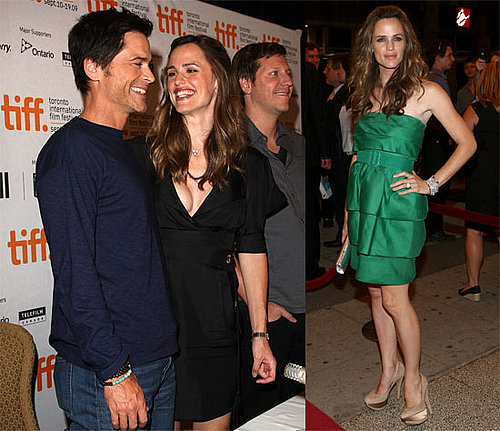 Photos of Jennifer Garner, Rob Lowe, Ricky Gervais at 2009 Toronto Film Festival Premiering The Invention of Lying
