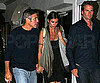 Photo Slide of Rande Gerber, George Clooney, And Elisabetta Canalis Leaving Nobu in LA