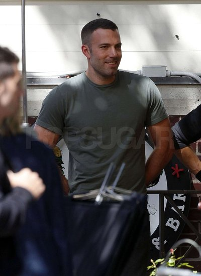 Photos of Jennifer Garner Visiting Ben Affleck on Set