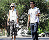 Slide Photo of Gwen Stefani and Gavin Rossdale After Lunch In LA