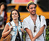 Slide Photo of Leighton Meester and a Friend in NYC