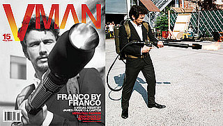 Photos of James Franco on the Cover of October's V Man 2009-09-16 11:30:00