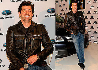 Photos of Patrick Dempsey Promoting Subaru in Spain