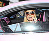 Slide Photo of Paris Hilton in Her Pink Bentley Around LA
