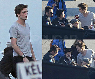 Photos of Robert PAttinson, Kristen Stewart, Billy Burke On Set Of Eclipse in Vancouver
