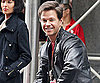 Slide Photo of Mark Wahlberg Wearing Police Badge on Set of The Other Guys