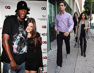 Photos of Pregnant Kourtney Kardashian, Soctt Disick, Khloe Kardashian with New Fiance Lamar Odom