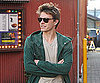 Slide Photo of Xavier Samuel in Vancouver Wearing Green