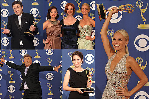 Photos of Alec Baldwin, Tina Fey, Justin Timberlake, Kristin Chenoweth at Primetime Emmy Awards Press Room 2009-09-21 09:00:40