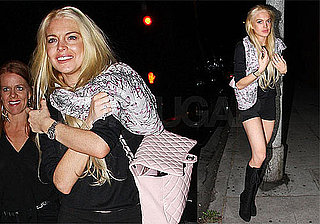 Photos of Lindsay Lohan in LA, Twitter Rant About Samanta Ronson Partying