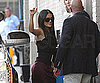 Slide Photo of Salma Hayek Heading into Jimmy Kimmel in LA