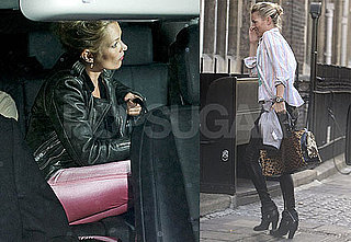 Photos of Kate Moss Partying With James Brown; Out in London With Jamie Hince at The Cow Pub