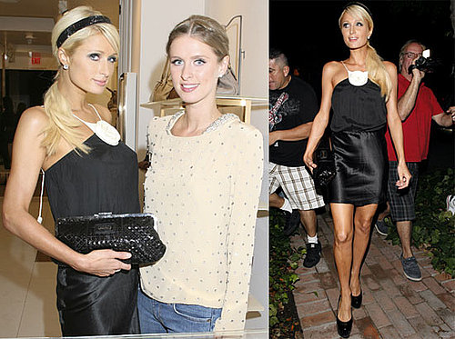 Photos of Paris Hilton, Nicky Hilton, and Kathy Hilton at a Charity Party for the Step Up Women's Network